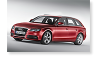 The Audi A4 - View 1