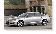 The Audi A6 - View 1