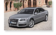 The Audi A8 - View 1