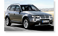 The BMW X3 - View 1
