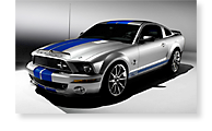 The Ford Shelby GT - View 1