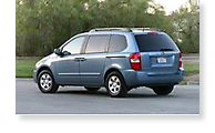 The Kia Sedona - View 1