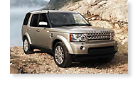 The Land Rover LR4 - View 1