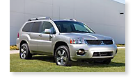 The Mitsubishi Endeavor - View 1