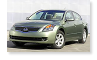 The Nissan Altima - View 1