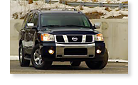 The Nissan Armada - View 1