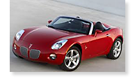 The Pontiac Solstice - View 1