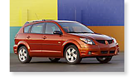 The Pontiac Vibe - View 1