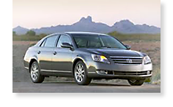 The Toyota Avalon - View 1