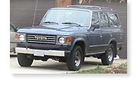 The Toyota Landcruiser - View 1