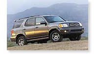 The Toyota Sequoia - View 1