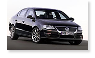 The Volkswagen Passat - View 1