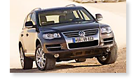 The Volkswagen Touareg - View 1